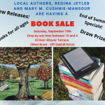 September Book Sale!